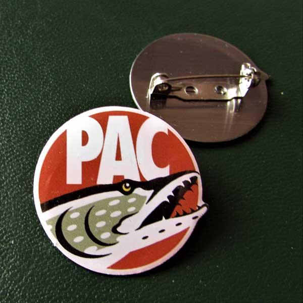 PAC Enamel Pin Badge